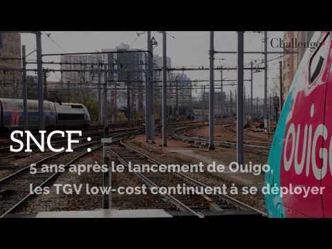La SNCF généralise ses TGV Ouigo et ses tarifs low cost