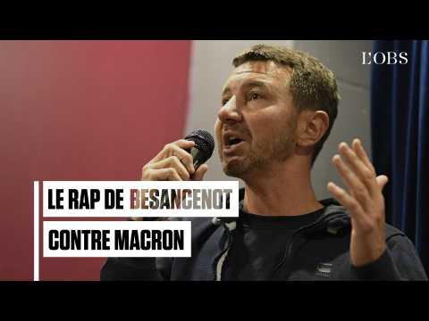 Olivier Besancenot fait (encore) du rap avec un clip anti-Macron