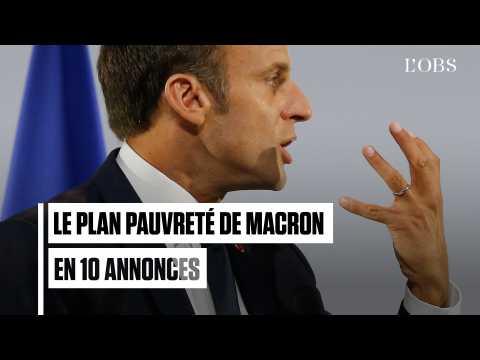 Crèches, cantine, insertion : le plan pauvreté de Macron en 10 annonces