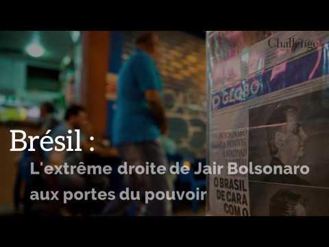 Brésil : l'extrême droite de Jair Bolsonaro aux portes du pouvoir