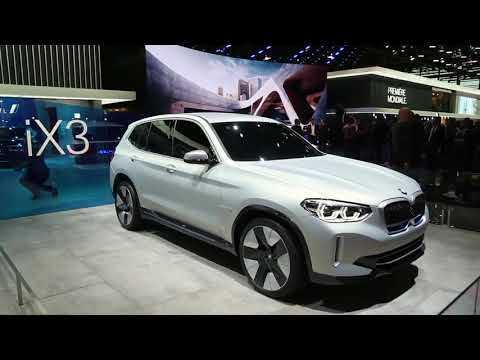 BMW iX3 Concept Preview at 2018 Paris Motor Show