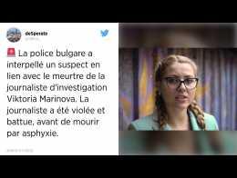 175ae405dbfc Meurtre de la journaliste bulgare Marinova   un suspect interpellé.