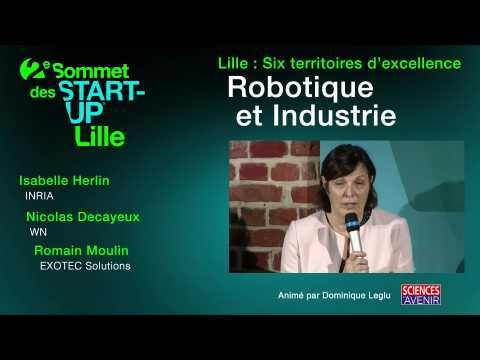 Sommet des start-up : l'intelligence artificielle en toile de fond de la robotique et de l'industrie