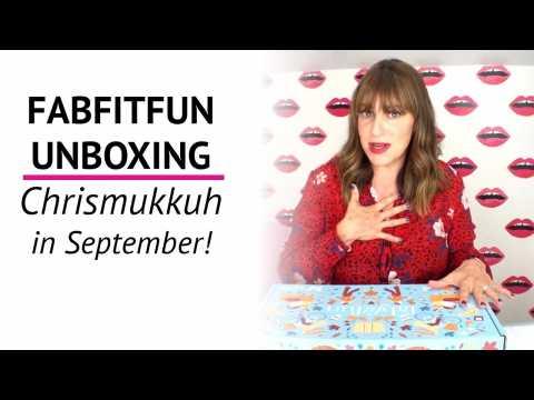FABFITFUN FALL 2018 | Best Box Ever?!