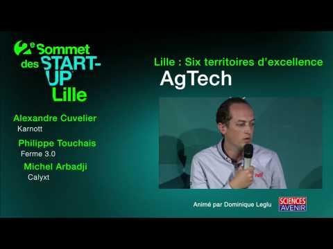 Sommet des start-up : les AgTech nous emmènent vers l'agriculture de demain