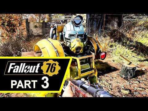 FALLOUT 76 Gameplay Walkthrough Part 3 (4K HD)
