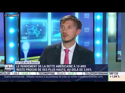 Le Club de la Bourse: Franck Dixmier, Bastien Drut et Bertrand Lamielle - 20/09