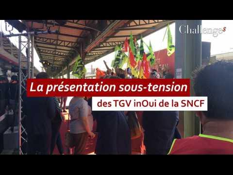 La présentation sous-tension des TGV inOui de la SNCF