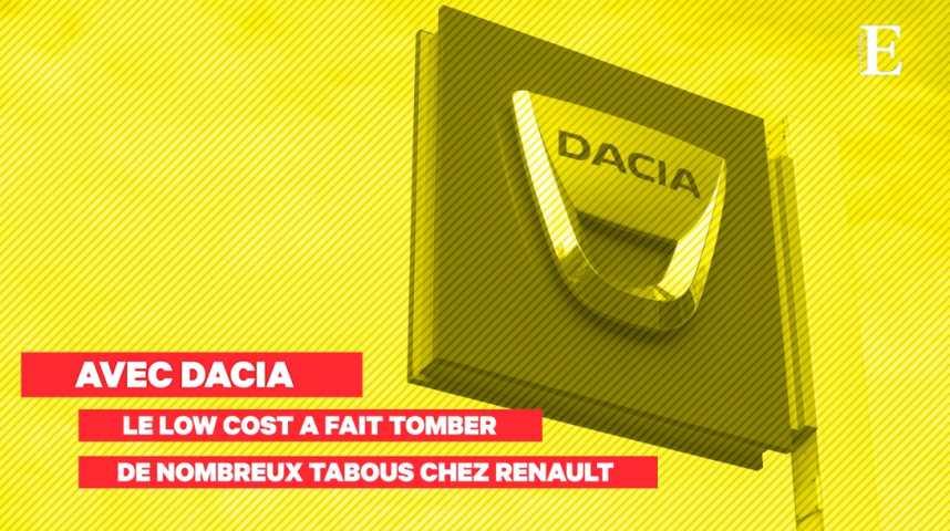 """Illustration pour la vidéo Dacia, le pari gagnant sur le """"low-cost"""" de Renault"""