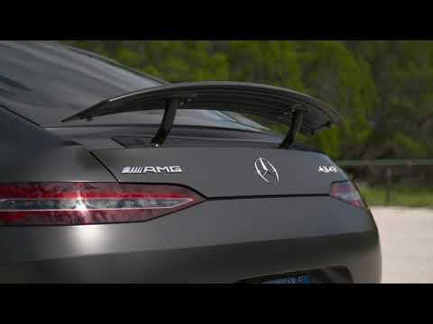 Mercedes AMG GT 63 S 4MATIC+ Exterior Design in Graphite Gray