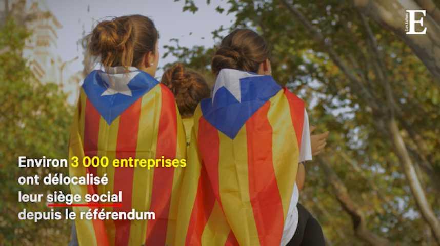 Illustration pour la vidéo Grogne en Catalogne : un après le référendum, qu'ont obtenu les indépendantistes ?