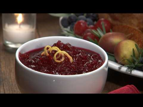 Food Recipes: Cranberry Sauce