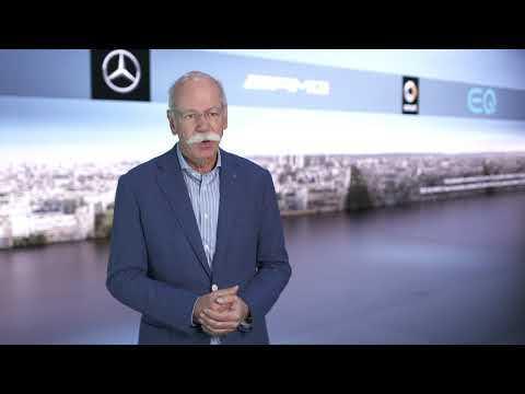 Mercedes-Benz GLE at the 2018 Paris Motor Show - Interview Dr. Dieter Zetsche