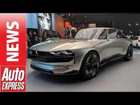 Peugeot e-Legend concept - legendary 504 Coupe reborn at Paris Motor Show
