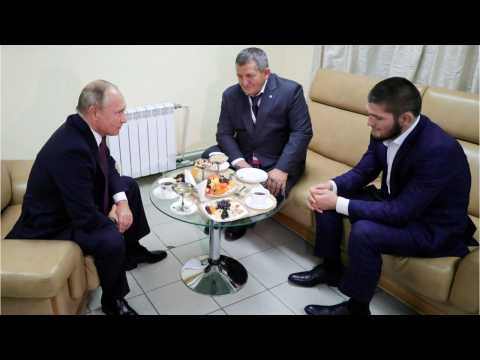 Vladmimir Putin Tells Khabib Nurmagomedov's Father To Go Easy On The Fighter