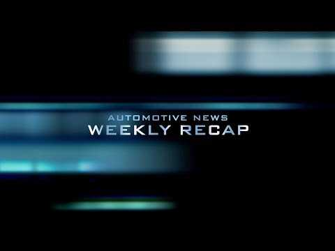 Automotive News Weekly Recap 14 Sept, 2018