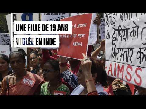 Manifestation en Inde après le viol d'une jeune femme de 19 ans