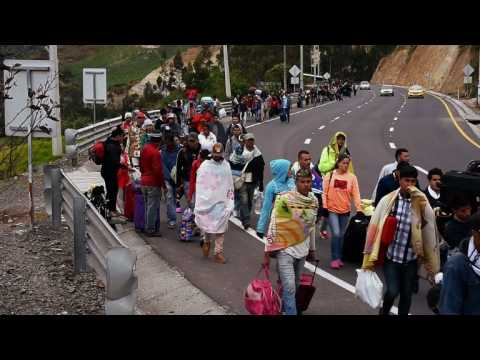 Venezuelans are fleeing their country in droves due to crisis