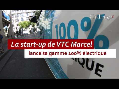 La start-up de VTC Marcel lance sa gamme 100% électrique
