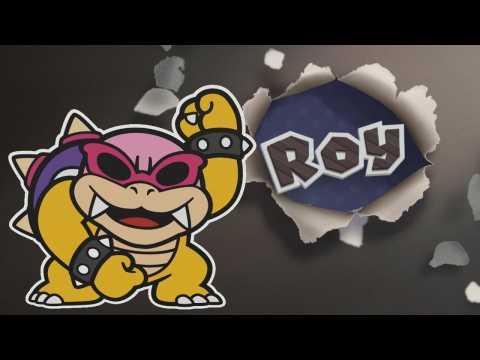 Paper Mario Color Splash: Roy Boss Fight (1080p 60fps)