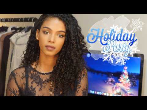 My last video in NYC / Holiday Makeup Look