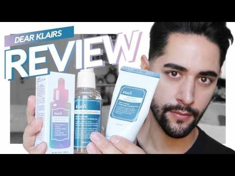 Klairs Review & GIVEAWAY! Angry Skin Calming Package   James Welsh