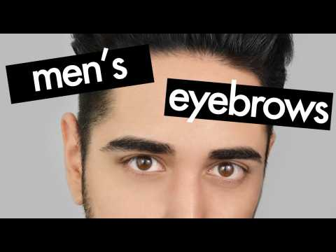 Eyebrow grooming for men - How to shape eyebrows  James Welsh