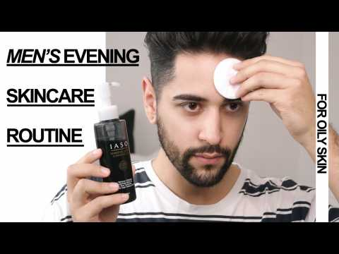 Men's Evening Skincare Routine   James Welsh