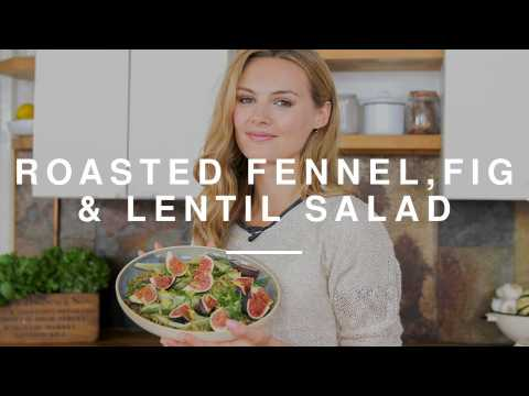 Niomi Smart - Roasted Fennel, Lentil & Fig Salad | Eat Smart | Wild Dish