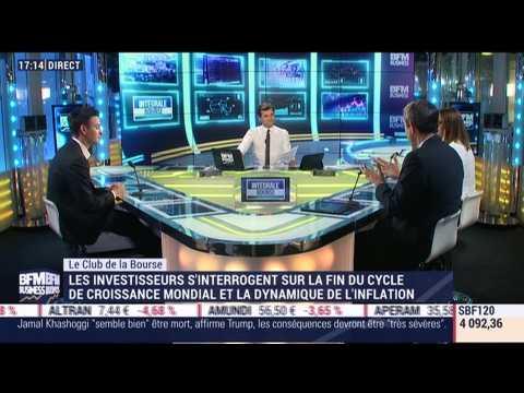 Le Club de la Bourse: Alain Pitous, Axel Botte, Florence Barjou et  Alexandre Baradez - 19/10