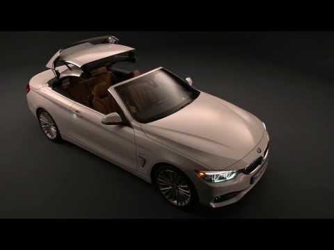 The new BMW 4 Series Convertible Exterior Design | AutoMotoTV
