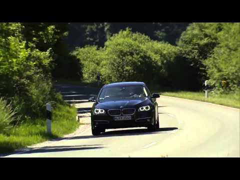 The new BMW 5 Series - BMW 530d Sedan Driving Review | AutoMotoTV