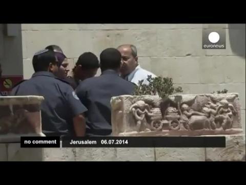 Palestinian-American teen beaten by Israeli police released from jail