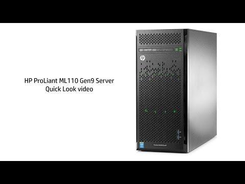 QuickLook at the HP ProLiant ML110 Gen9 Server