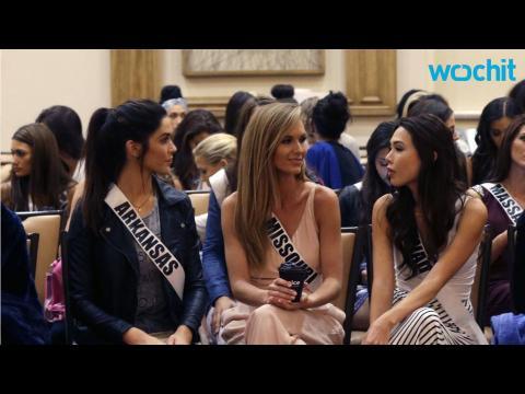 Miss USA Contestants Ignoring Donald Trump Comments