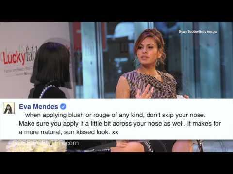 5 Beauty and Health Tips from Eva Mendes