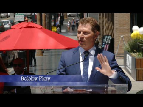 Bobby Flay Is The First Chef To Get A Star