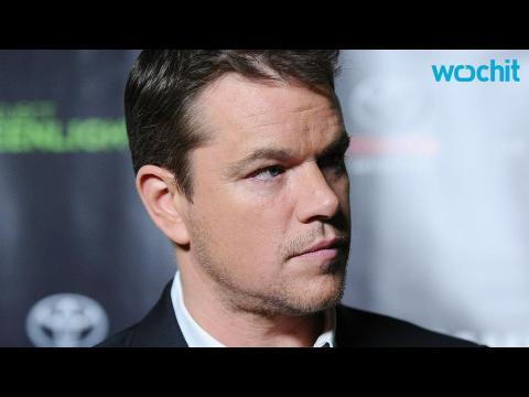 """Viral Video for Matt Damon's """"The Martian"""" Released"""