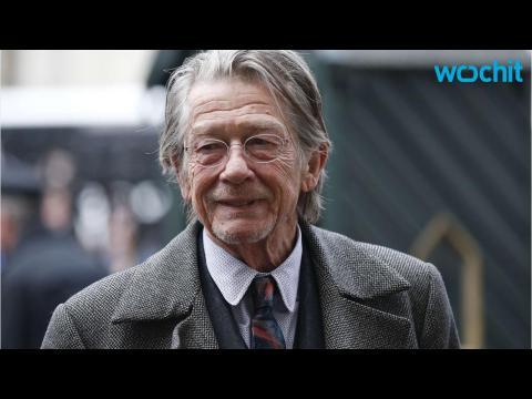 Actor John Hurt Reveals Cancer Diagnosis