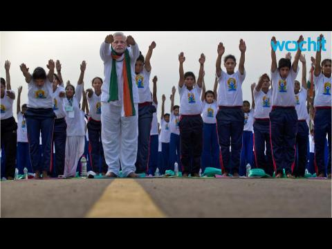Millions of People Bend Their Bodies for Yoga Day