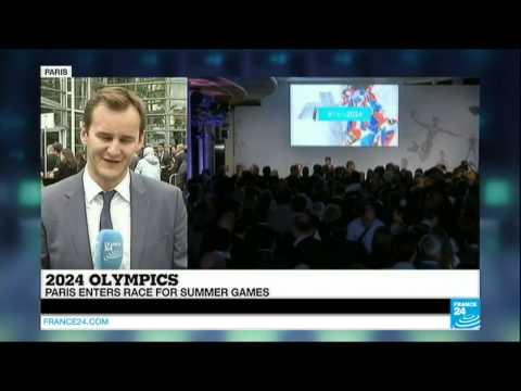 FRANCE - Paris officially launches 2024 Olympic games bid
