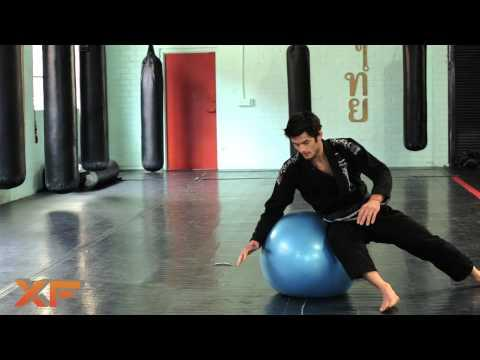XF MMA and Jiu Jitsu Basics  Stability Ball Drills for Grappling