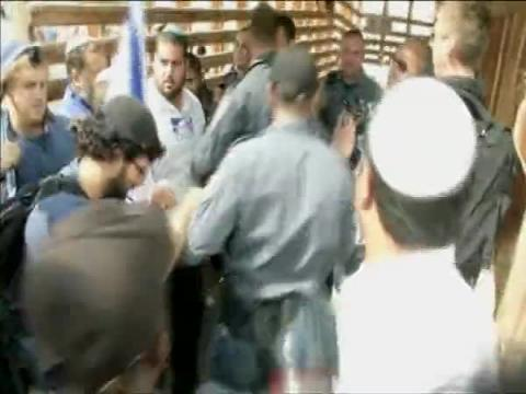 Jewish activists try to break into al-Aqsa compound, also known as the Temple Mount