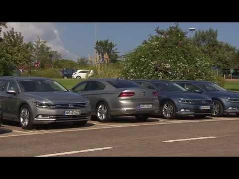 The new Volkswagen Passat Assistance Systems Park Assist | AutoMotoTV