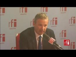Nicolas Dupont-Aignan, député de l'Essonne et président de Debout la république