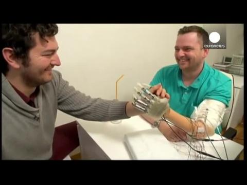 Protoype bionic hand gives amputees a real sense of touch
