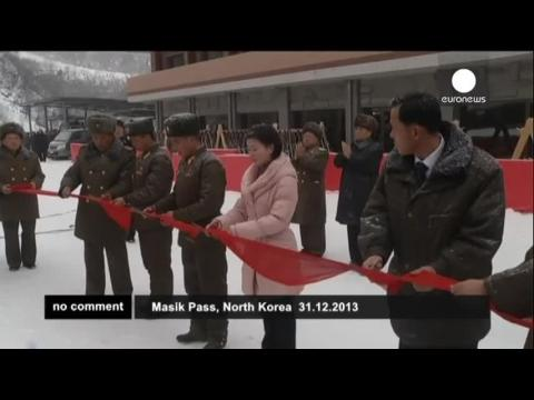 North Korea's first public ski resort opens in time for New Year