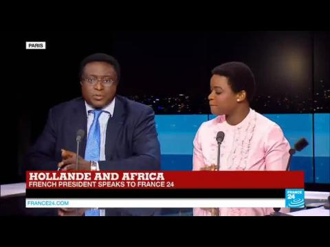 Hollande and Africa: French President Speaks to France 24
