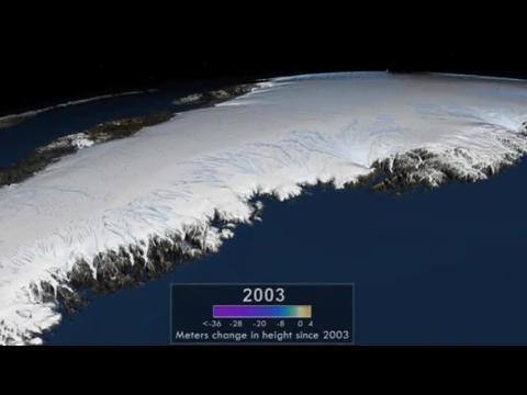 Greenland ice may be melting faster than predicted
