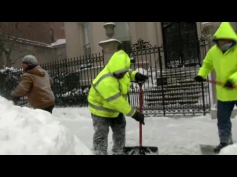 Blizzard slams Northeast, but NYC spared